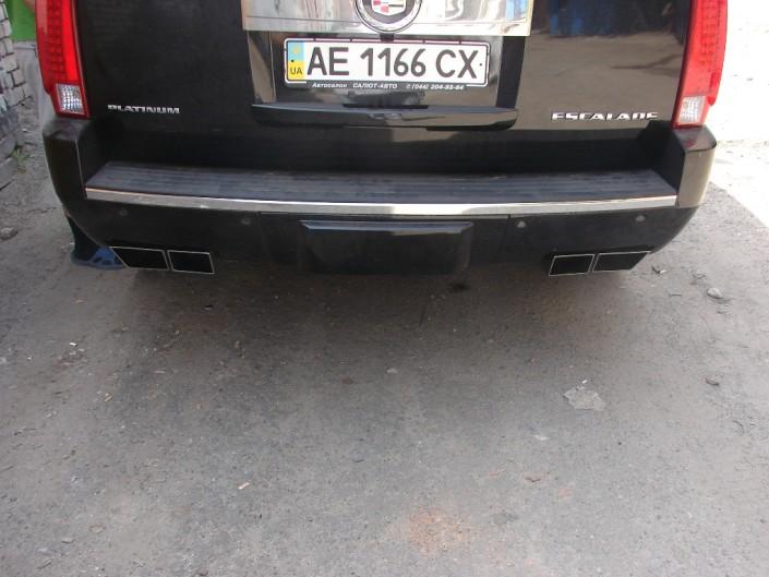 тюнинг выхлоп Cadillac Escalade